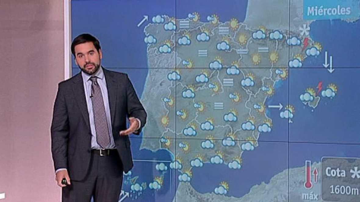 Alerta naranja en Canarias por precipitaciones y viento