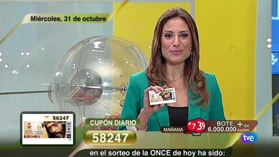 Sorteo ONCE - 31/10/12 - Ver ahora