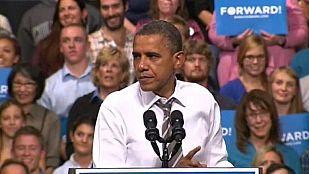 Obama defiende en Ohio su política económica