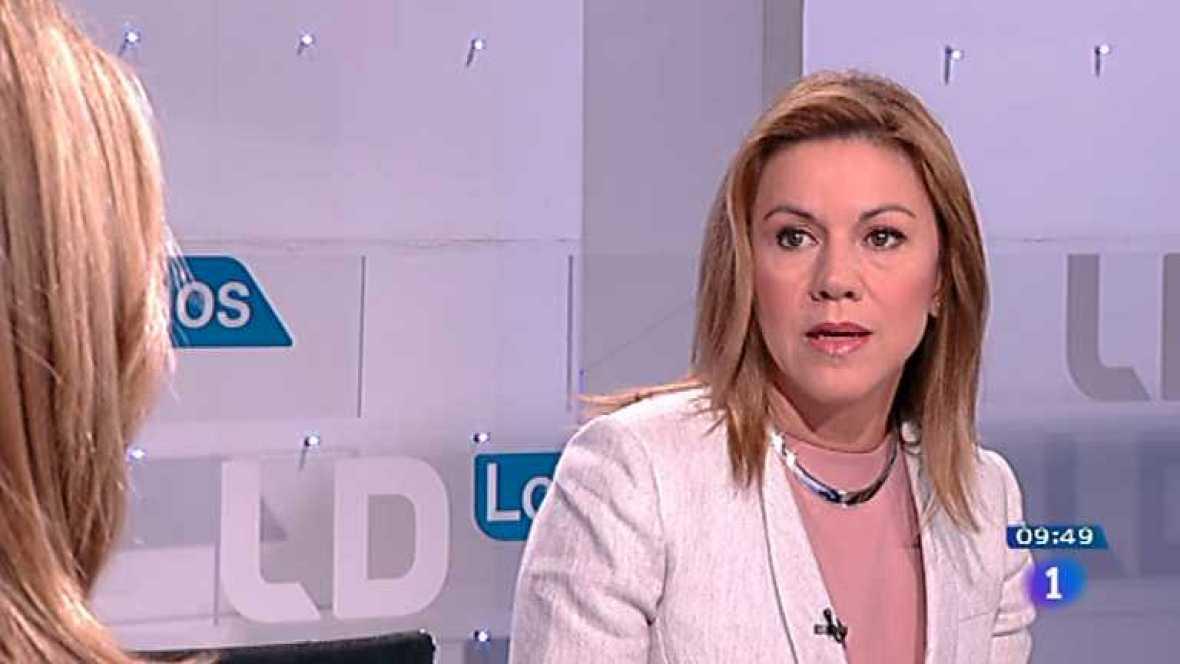 Los desayunos de TVE - Mª Dolores de Cospedal, Presidenta de Castilla-La Mancha - Ver ahora