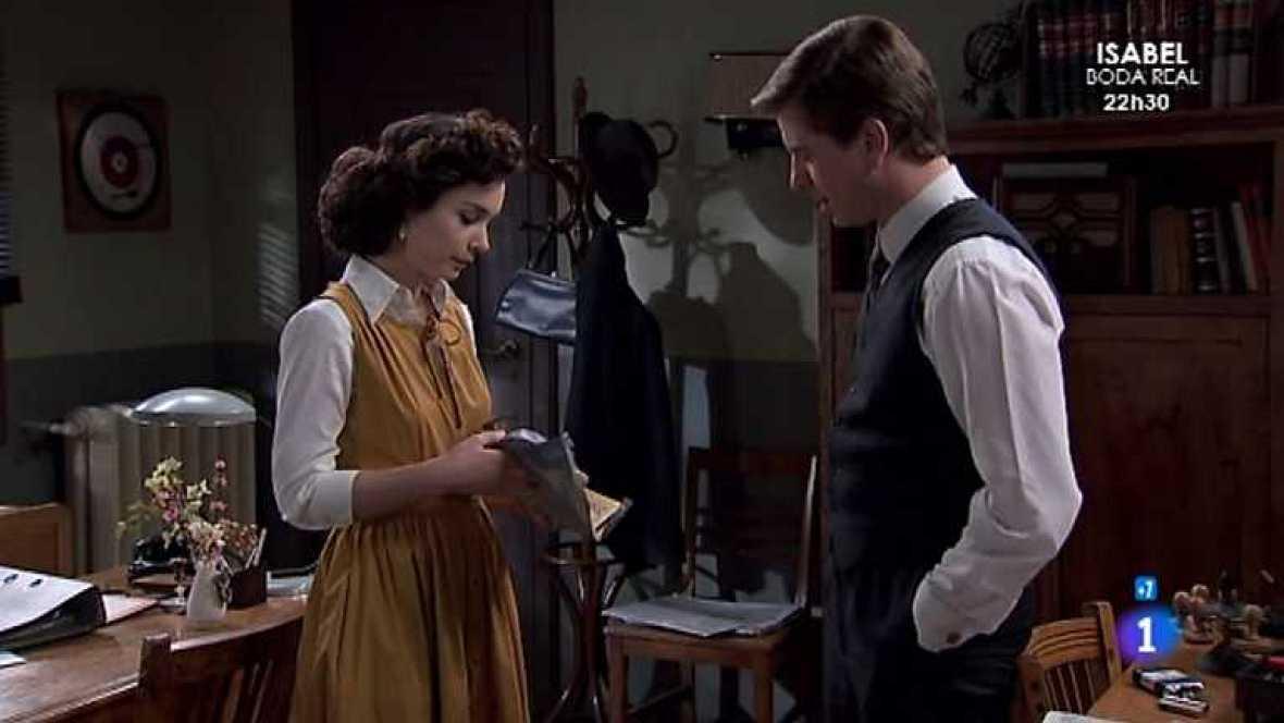 Amar en tiempos revueltos - T7 - Capítulo 247 - A Felisa le preocupa que Asunción pase tanto tiempo a solas con Héctor, no le parece apropiado - Ver ahora