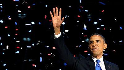 Obama afronta su segundo mandato con retos económicos y de política exterior