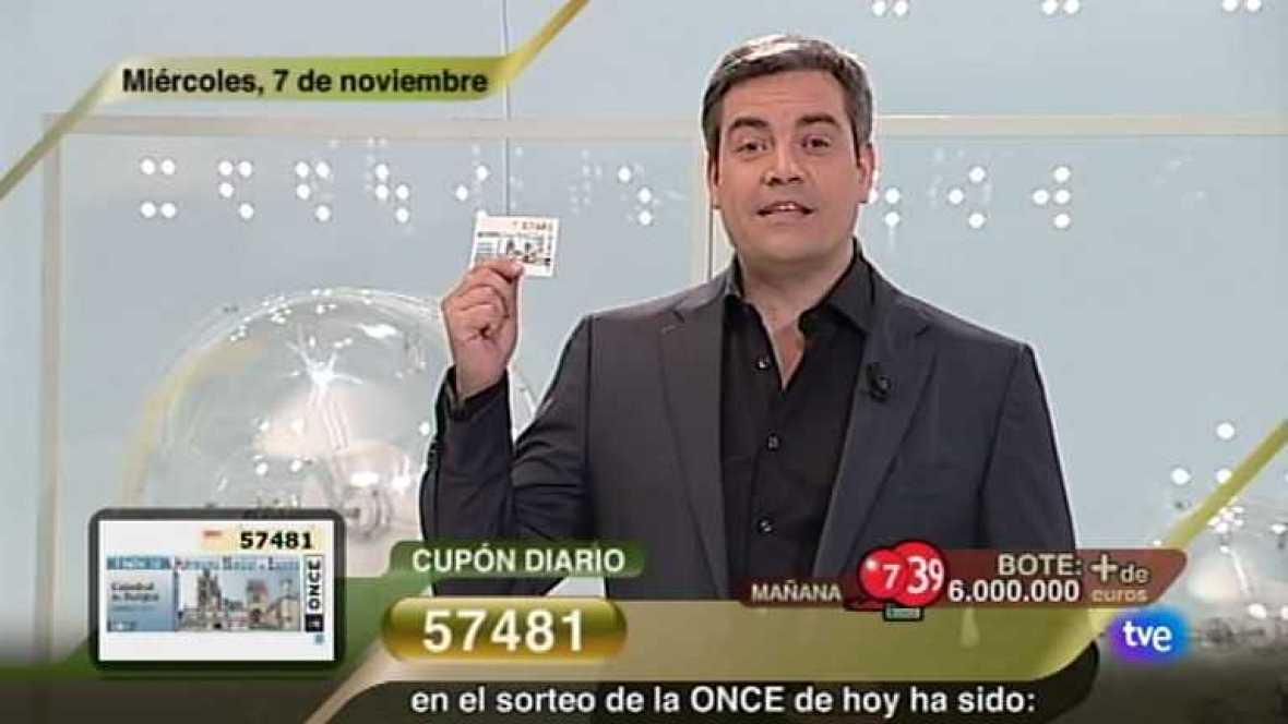 Sorteo ONCE - 07/11/12 - Ver ahora
