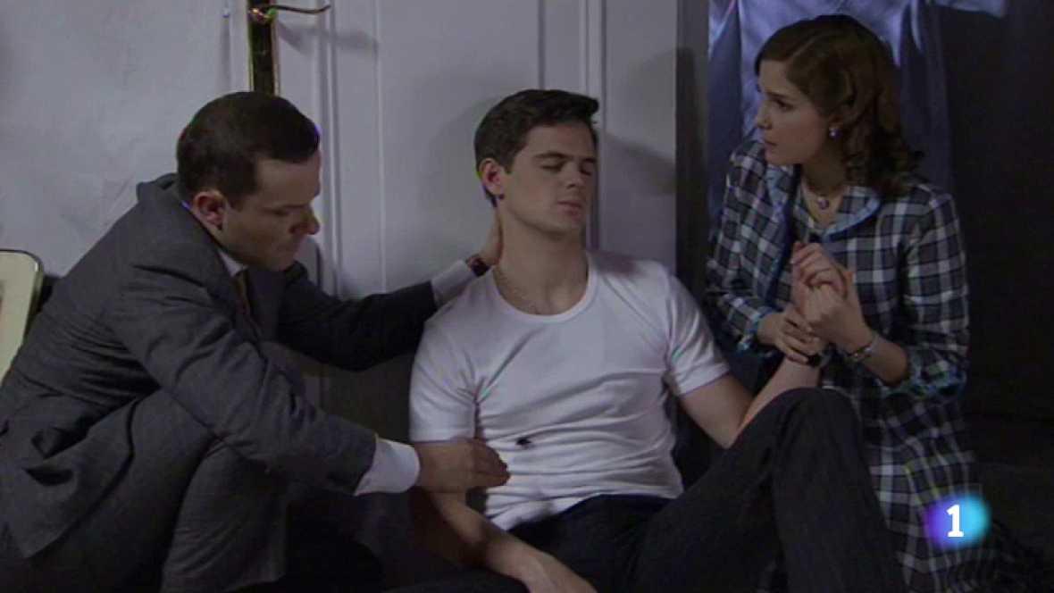 Amar - Cecilia se reúne con Carlos, que está herido de gravedad