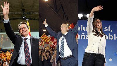 Programa especial arranque de campaña de las elecciones catalanas
