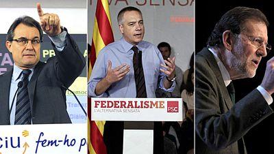 El debate soberanista marca el primer día de la campaña electoral en Cataluña