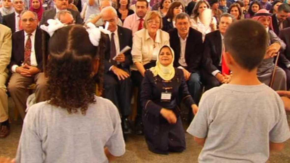 La cooperación española hace posible un proyecto educativo en Jericó
