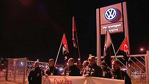 Los trabajadores del sector industrial, los que más secundan la huelga