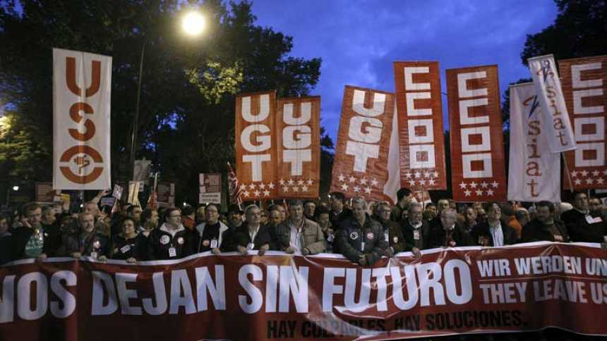 La huelga del 14N se cierra con manifestaciones en toda España