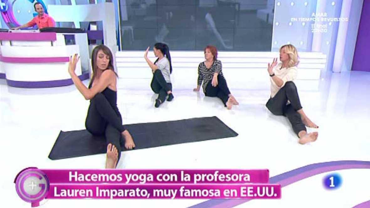 Más Gente - Lauren Imparato nos enseña a hacer yoga