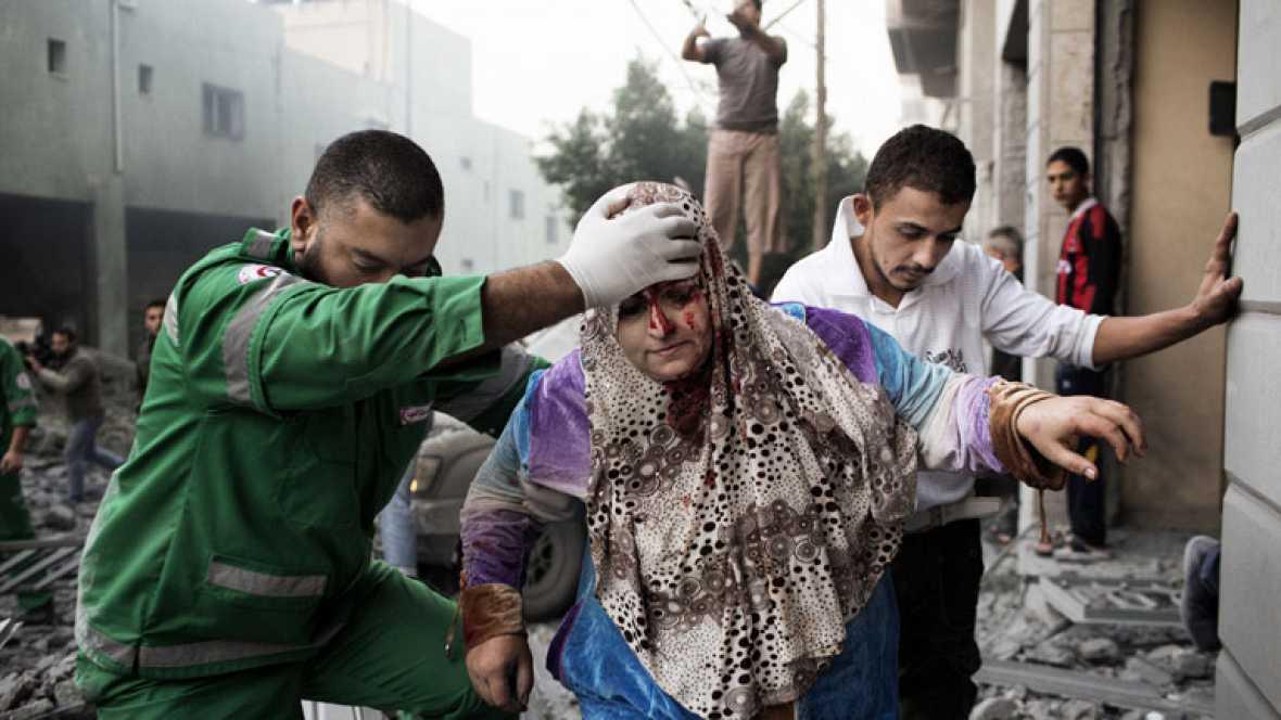 """Egipto confía en una tregua """"muy pronto"""" en Gaza mientras negocia con isralíes y palestinos"""