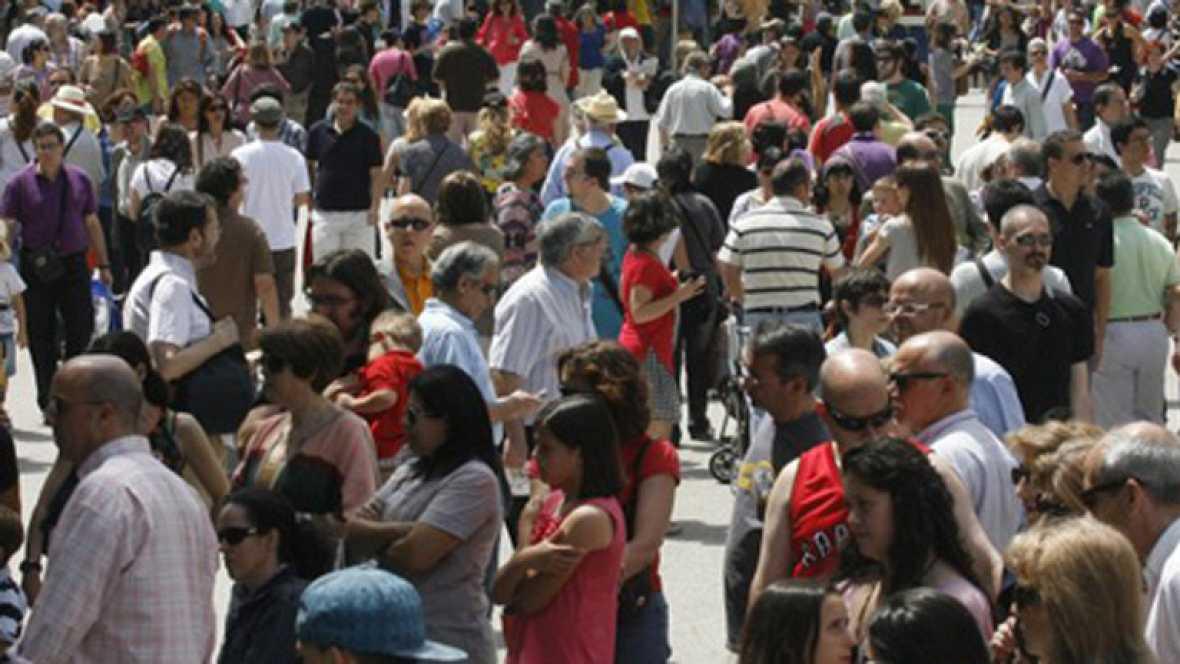La población de España se reducirá un 10% en cuatro décadas