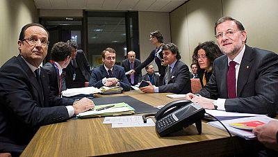 Reuniones bilaterales de Rajoy con los presidentes del CE