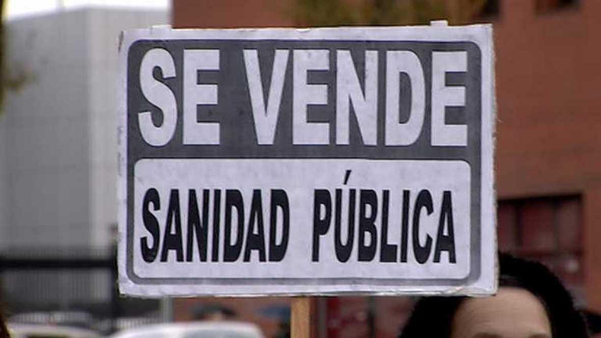 Primer día de huelga en la sanidad pública madrileña