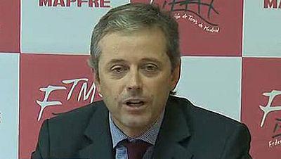 John Riagu ha presentado este viernes su candidatura a la presidencia de la Federación Española de tenis, con la que tratará de desbancar al actual presidente, José Luis Escañuela.