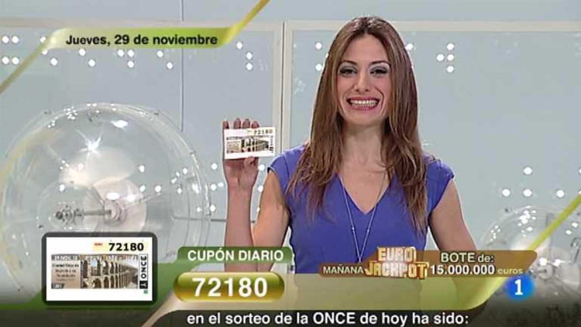Sorteo ONCE - 29/11/12 - Ver ahora