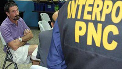 GUATEMALA DENIEGA ASILO POLÍTICO A MCAFEE
