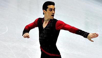 El patinador español Javier Fernández ha logrado la quinta  posición en el Programa Corto del ISU Grand Prix de Sochi (Rusia)  tras haber acumulado un total de 80,19 puntos, 12 menos que el líder  de la competición por el momento, el japonés Daisuke