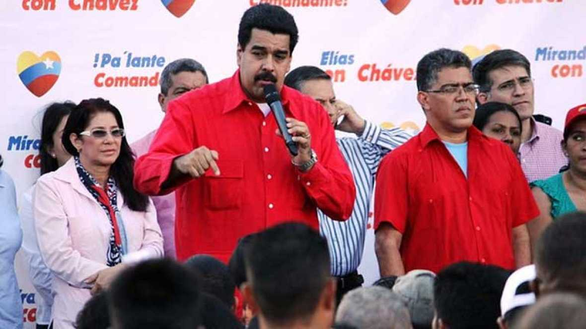 Primer acto público de Nicolás Maduro tras el viaje a Cuba de Hugo Chávez