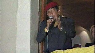Chávez obtiene un holgado triunfo en las elecciones presidenciales de 2000
