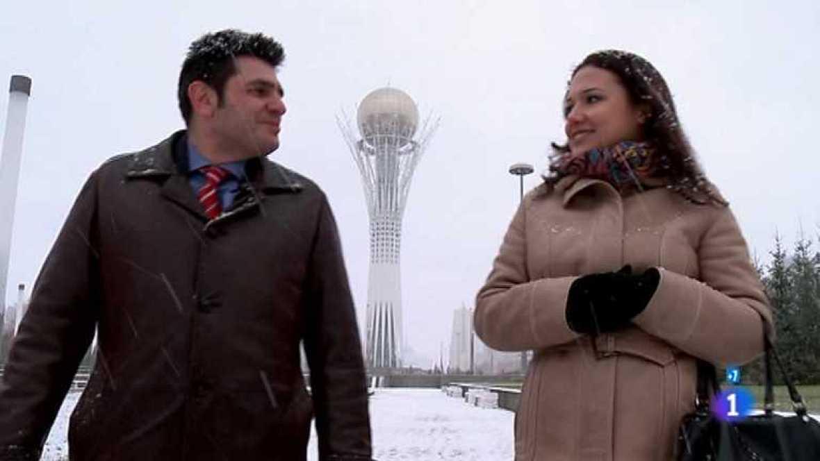 Espaoles en el mundo  Kazajistn Espaoles en el mundo  RTVE