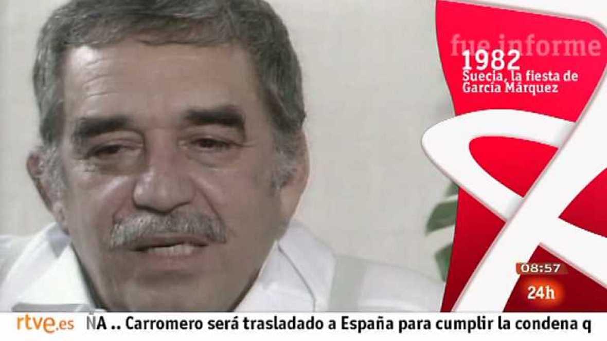 Fue informe - Suecia, la fiesta de García Márquez - Ver ahora