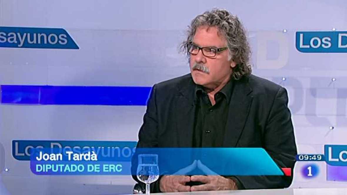 Los desayunos de TVE - Joan Tardá, diputado de ERC  - ver ahora