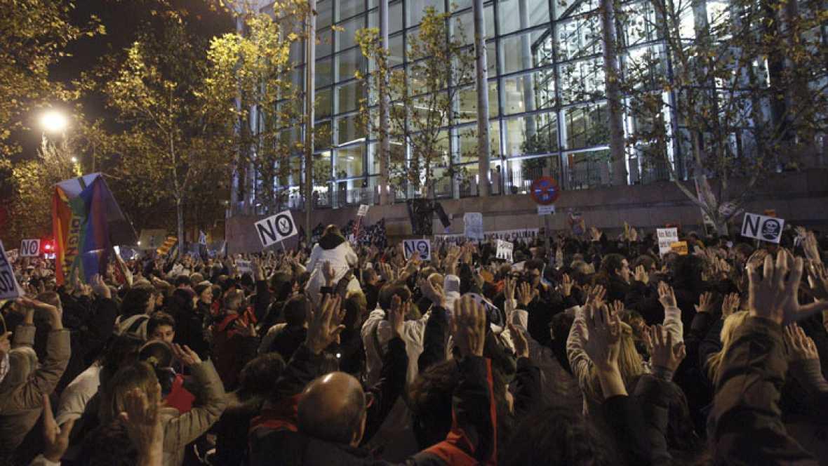 Nueva jornada de protesta en la sanidad madrileña
