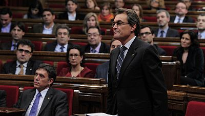 Artur Mas, investido presidente