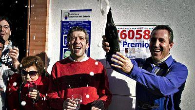 Un vecino de Villarrasa conquista por primera vez el gordo en Huelva