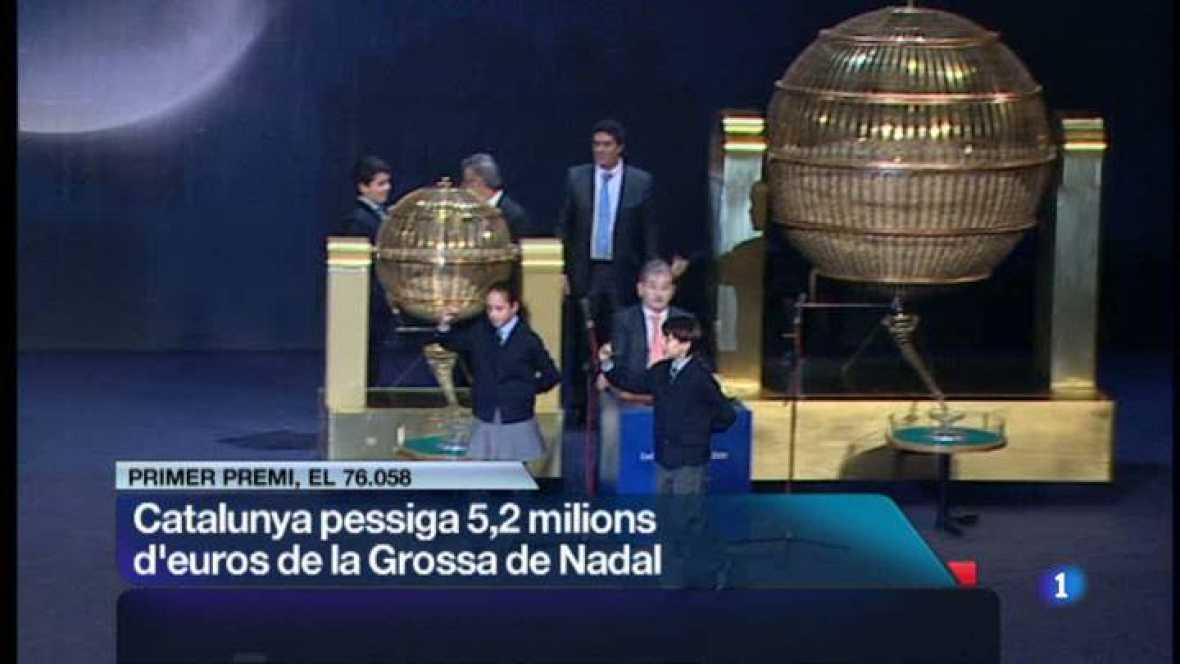 L'Informatiu Cap de Setmana- 22/12/2012