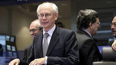 Van Rompuy ve un cambio en 2013