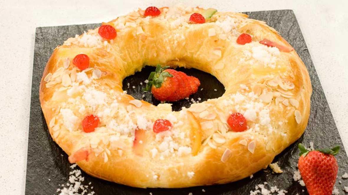 Saber Cocinar - Roscón de Reyes casero
