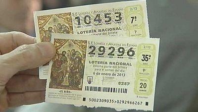 El origen de los décimos de la lotería del Niño, en un pueblo de Aragón