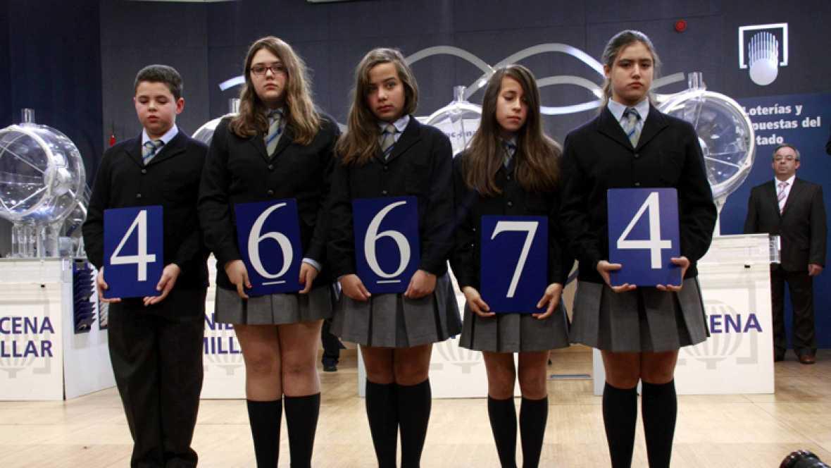 El 46.674, segundo premio del Niño
