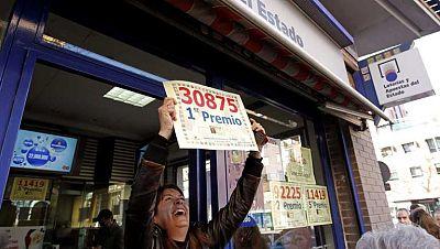 El primer premio de la lotería del Niño, 30.875, se va a Alcorcón y Alicante