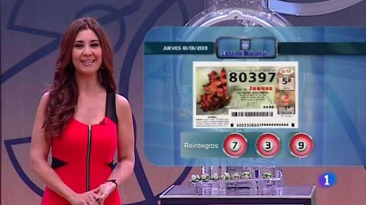 Lotería Nacional + Primitiva - 10/01/13 - ver ahora