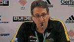 """Valero Rivera: """"El equipo ha estado muy bien en defensa"""""""