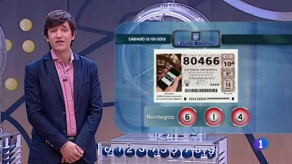 Lotería Nacional - 12/01/13- Ver ahora
