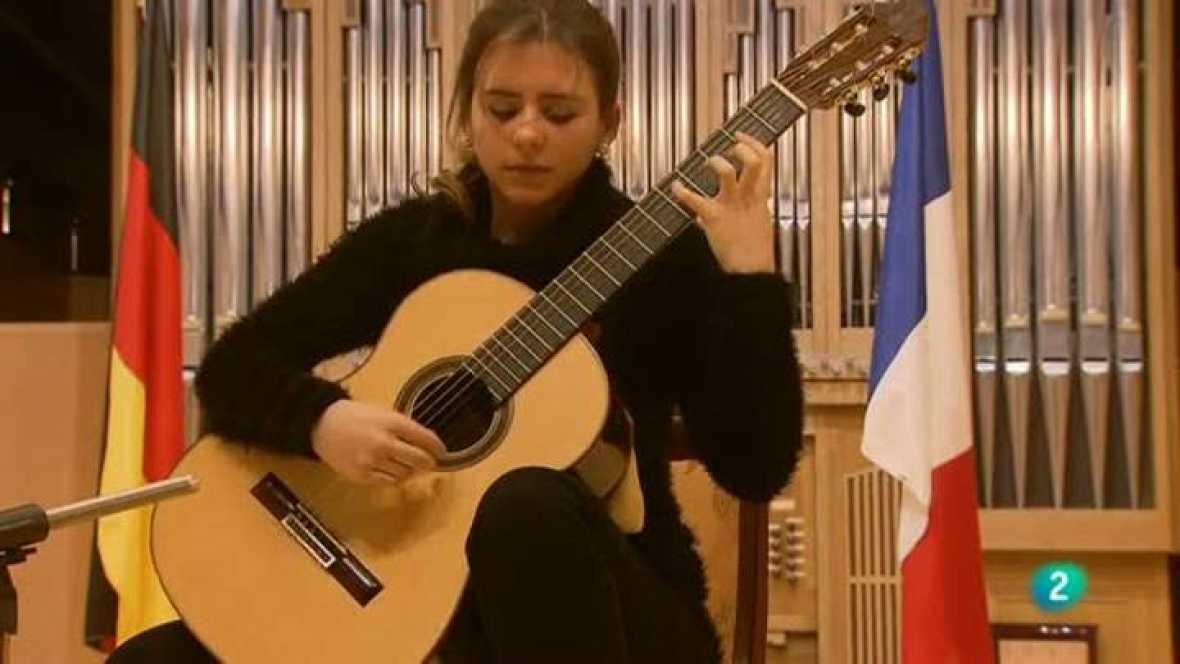 Programa de Mano -  Concurso de guitarra