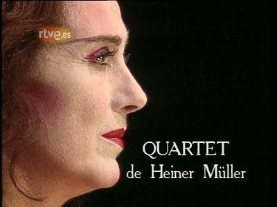 Arxiu TVE Catalunya - Quartet, de H. M�ller, des del Teatre Lliure