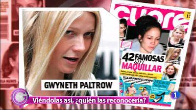 Más Gente - Una revista nos desvela a muchas famosas sin maquillaje