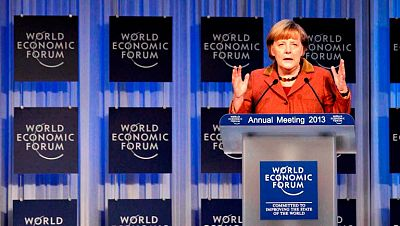 Tras Cameron y Merkel, Draghi hablará este viernes en Davos