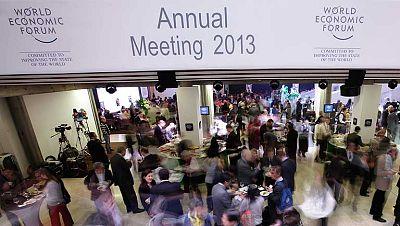El Foro de Davos concluye con buenas perspectivas económicas