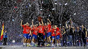 España cosecha un nuevo éxito, ahora de balonmano