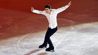 Javier Fernández, oro para el arte sobre hielo
