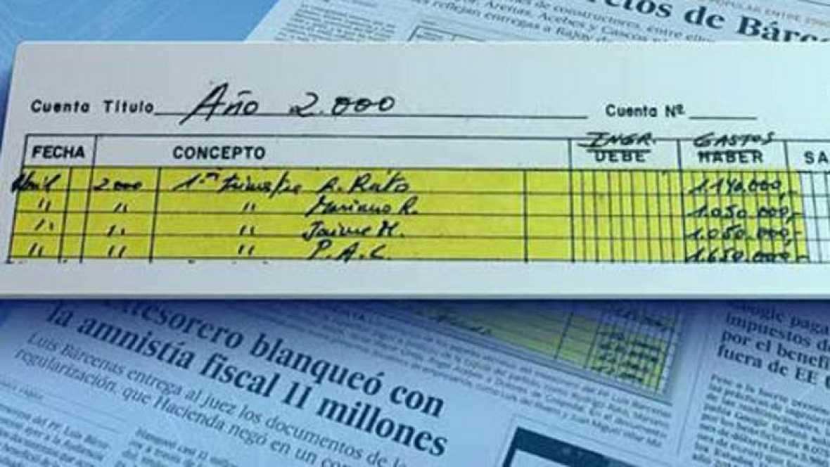 Bárcenas repartió pagos a los principales cargos del PP, según El País