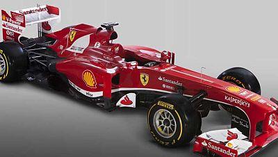 La escudería italiana Ferrari ha desvelado su nuevo prototipo: el Ferrari F138, el monoplaza con el que competirá en el próximo Mundial de Fórmula 1. Fernando Alonso y Felipe Massa serán los dos pilotos que compitan con el F318.