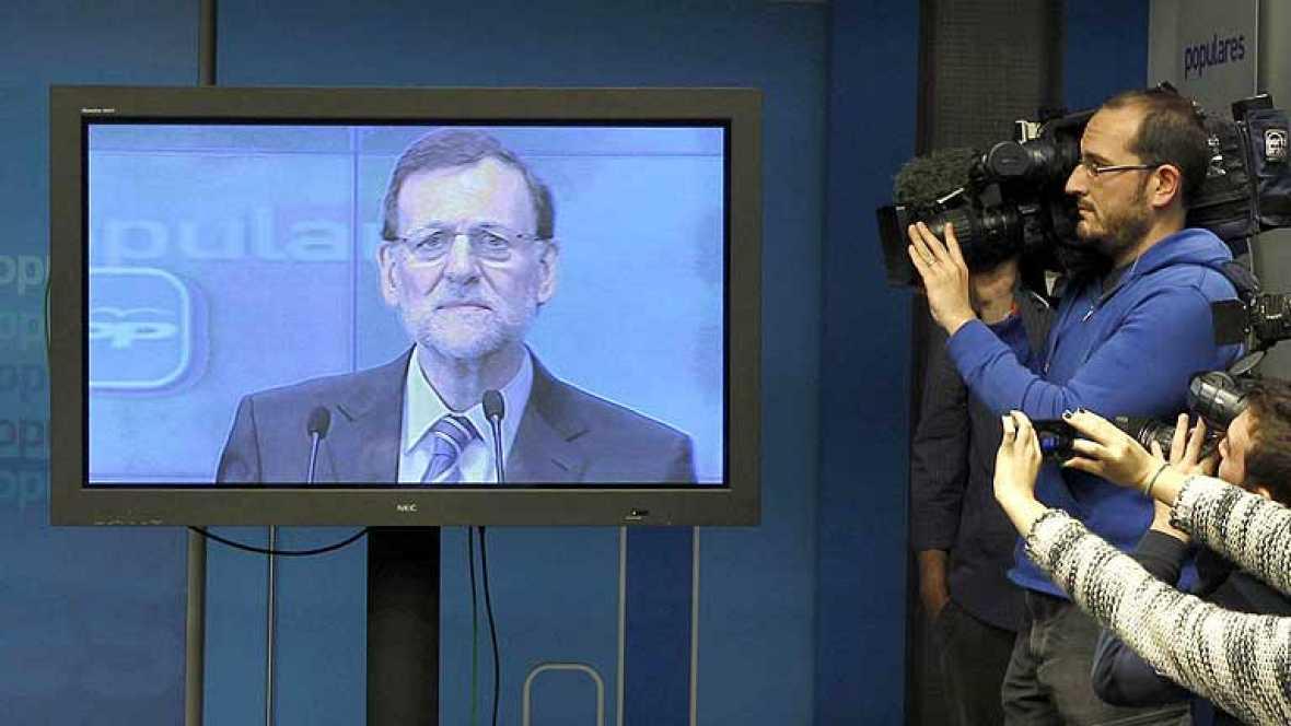 """Rajoy dice que """"es falso"""" que recibiera dinero negro y anuncia que publicará sus declaraciones"""