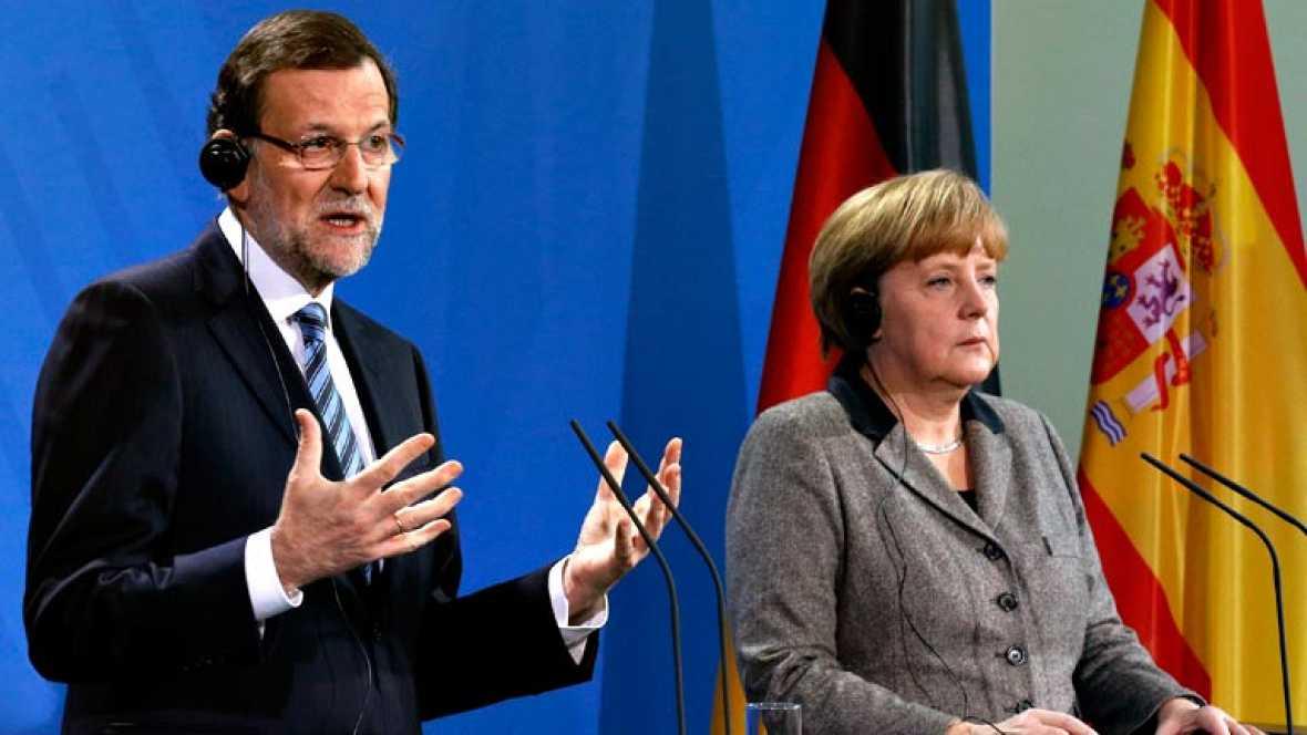 Vídeo íntegro de la rueda de prensa de Angela Merkel y Mariano Rajoy